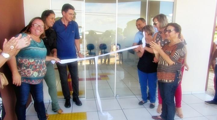 Entrega de nova sede do Social e ônibus para a Saúde